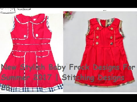 b0eb568d541f New Stylish Baby Frock Designs For Summer 2017