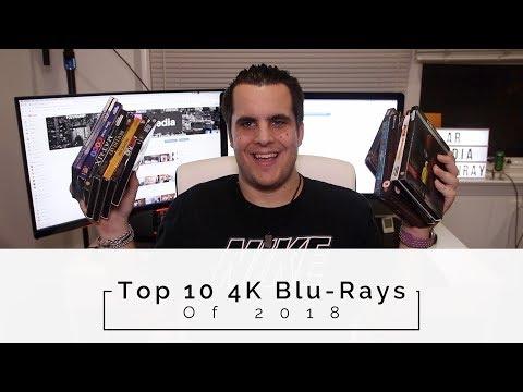 Top 10 4K Blu-Rays of 2018!
