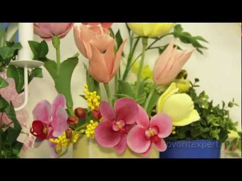 Ролики про живые цветы цветы тканевые купить оптом