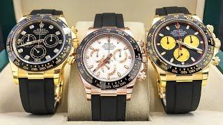 New Rolex Daytona - Oyster Perpetual Cosmograph Daytona - Baselworld 2017(, 2017-08-15T15:58:47.000Z)