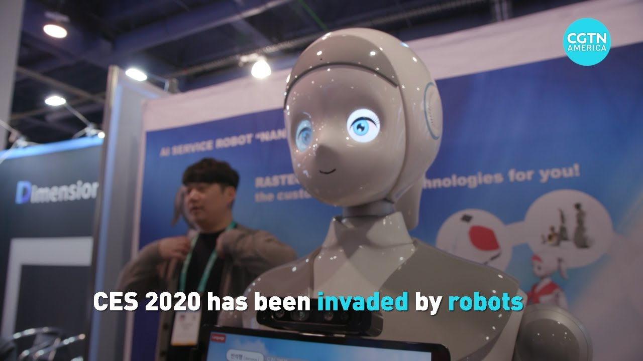 Robot technology at CES 2020