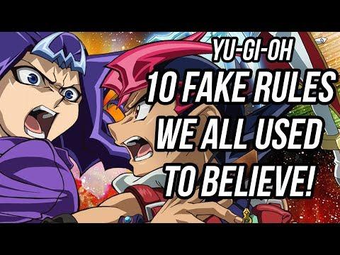 10 FAKE Yu-Gi-Oh Rules We All Believed As Kids!