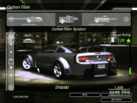 Need For Speed Underground 2 Body Shop Youtube