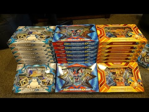 Opening 50 more Pokemon EX & GX Boxes