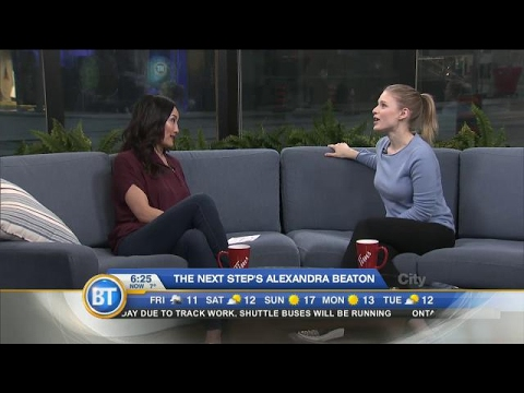The Next Step's Alexandra Beaton stops by!