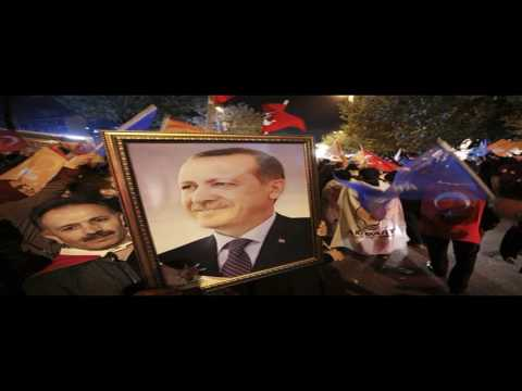 A Tease: erdogan turkey referendum party