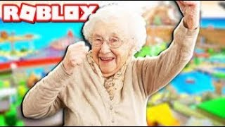 Roblox - Grandma Moves in Bloxburg!