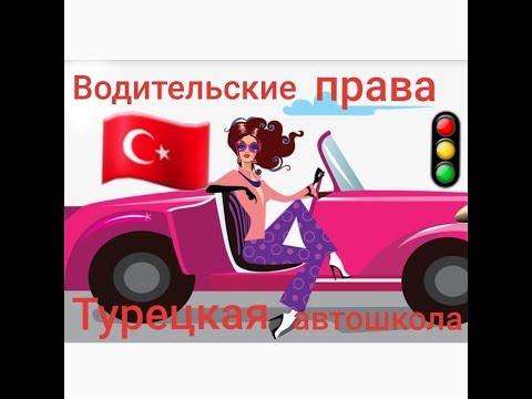 Турецкие водительские права.  Как получить права в Турции?