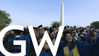 GW Commencement 2019 Highlights and Moments