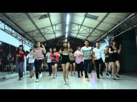 Lop hoc nhay hien dai - Kpop Dance - Paparazzi - SNSD [BoBo's class].MTS