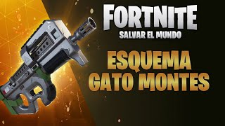 How to Get Cat Montes (Compact Submachine Gun) - FORTNITE Save the World