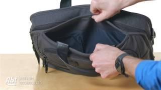 Tumi Alpha 2 Anthracite T-Pass Medium Screen Laptop Slim Brief 26516 - Overview