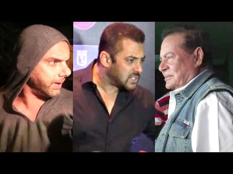 MEDIA Scared Of Salman Khan Treats FATHER Salim Khan With Respect