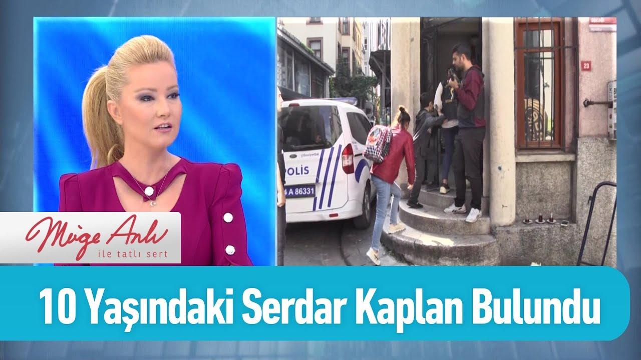 10 Yaşındaki Serdar Kaplan bulundu - Müge Anlı ile Tatlı Sert 16 Ekim 2019