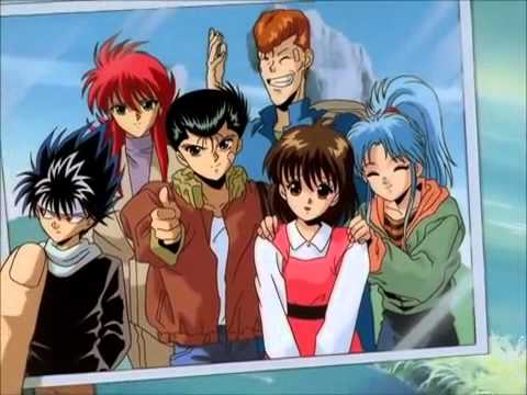 Yu Yu Hakusho All Opening's And Endings