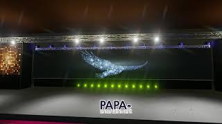 기업행사 무대디자인 3D 디자인 소개영상 이벤트회사 파…