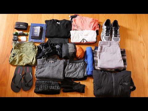 Packing List for All Season Travel