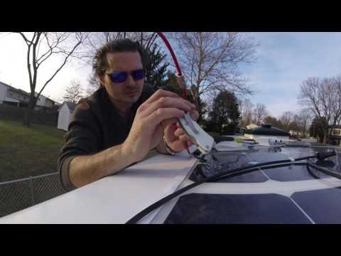 Van Life: Complete 300 Watt Solar Install.