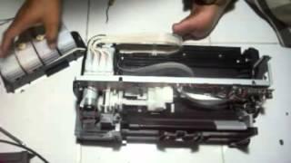 How to disassembling Epson L120 Printer