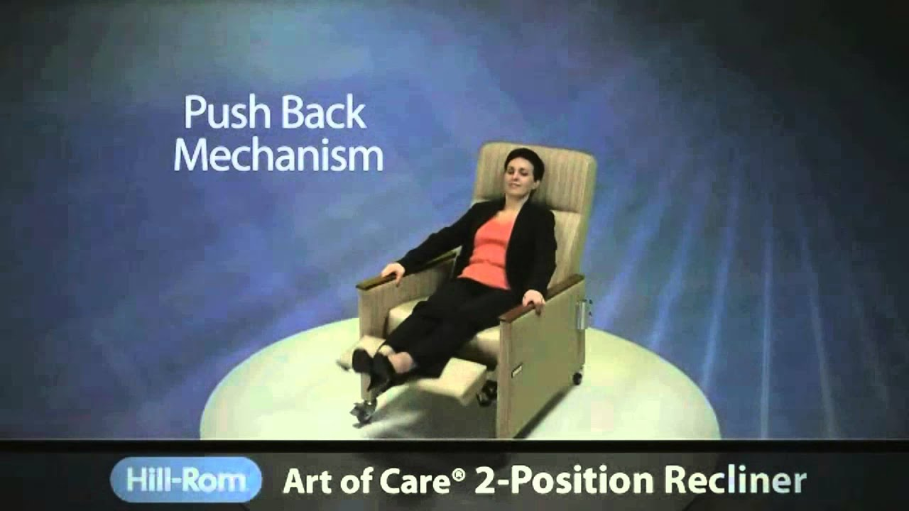 Hill-Rom | Healthcare Furniture | Art of Care® Two Position Recliner  sc 1 st  YouTube & Hill-Rom | Healthcare Furniture | Art of Care® Two Position ... islam-shia.org