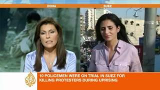 Sherine Tadros reports from Suez