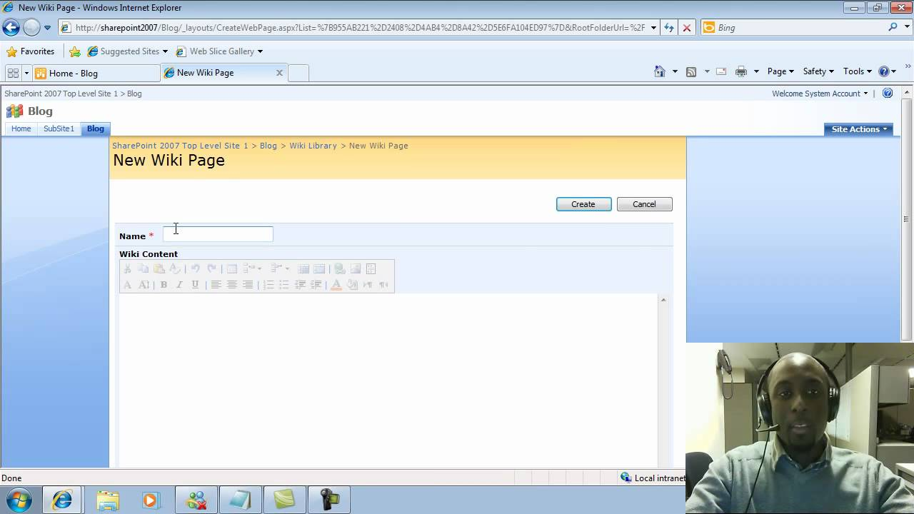 how to create comment in sharepoint