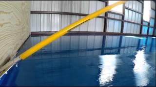 видео Полимерные наливные полы: технология устройства