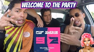 Nicki Minaj X Pop Smoke WELCOME TO THE PARTY REACTION REVIEW.mp3