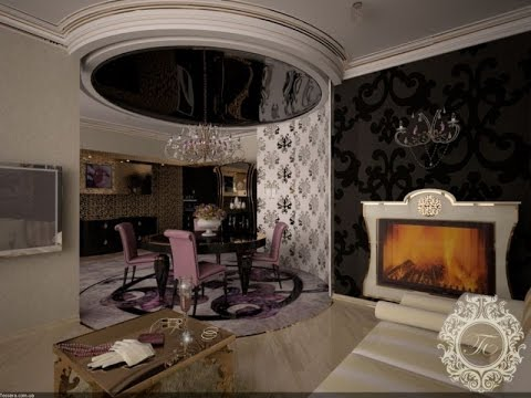 art deco 2015 interior design youtube. Black Bedroom Furniture Sets. Home Design Ideas