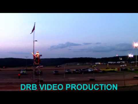 Marion Center Speedway 8/26/17 Super Late Model Heat 2 OF 2