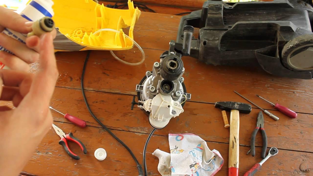 Karcher K5.200 / Compact не включается / ремонт
