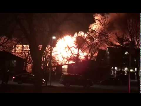 Streetsville Fire and Explosions