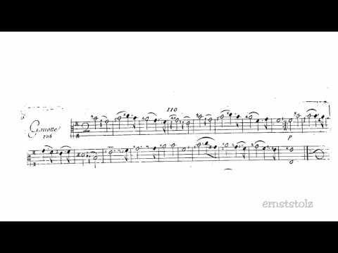 Marin Marais - Gavotte in e-minor from his second book (106)