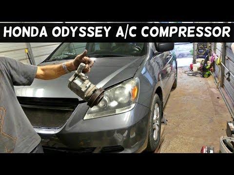 AC Compressor w// A//C Condenser /& Drier For Honda Odyssey 2005 2006 2007