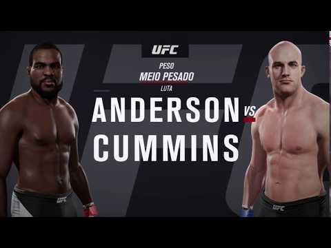 Simulação/Análise: UFC 217 - Corey Anderson vs Patrick Cummins
