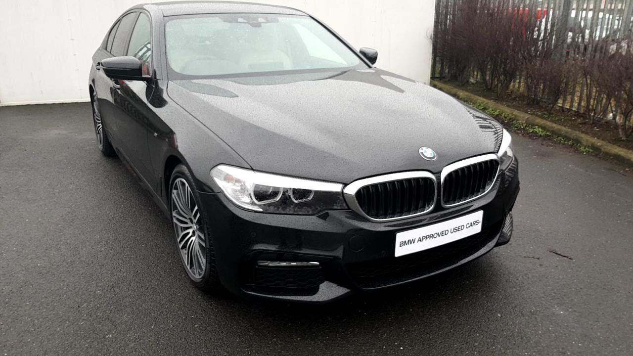 Bmw 520d 2018 >> BMW 520D M Sport saloon black sapphire D F - YouTube