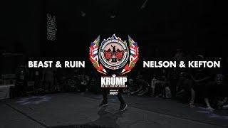 Kefton & Nelson Vs Ruin & Beast   Exhibition Battle   EBS KRUMP WORLD CHAMPIONSHIP 2018