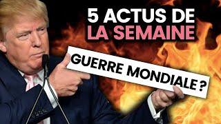 Trump vs Iran, WW3 et guerre mondiale, Carlos Ghosn, Australie, BlackRock... 5 actus de la semaine