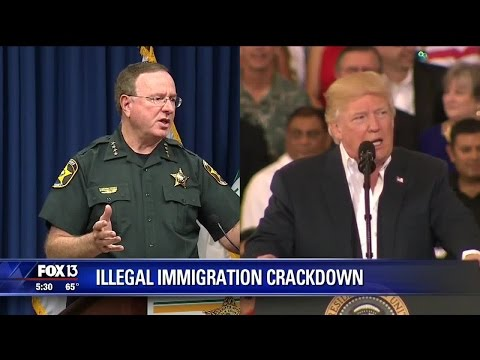 Sheriff Judd publicly supports new immigration orders