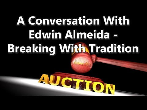 A Conversation With Edwin Almeida - Breaking With Tradition