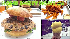 BURGERS AND GELATO (HOME SWEET HOME #4) | Cheap Lazy Vegan