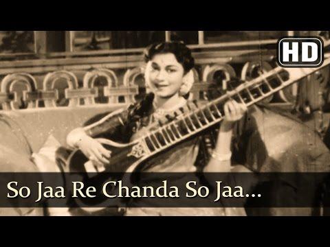 So Jaa Re Chanda So Jaa HD  Aasha Songs  Kishore Kumar  Minoo Mumtaz Filmigaane
