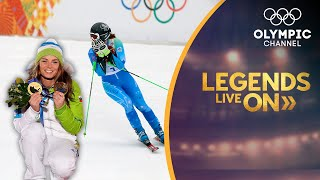 How Tina Maze became a sports icon in Skiing | Legends Live On