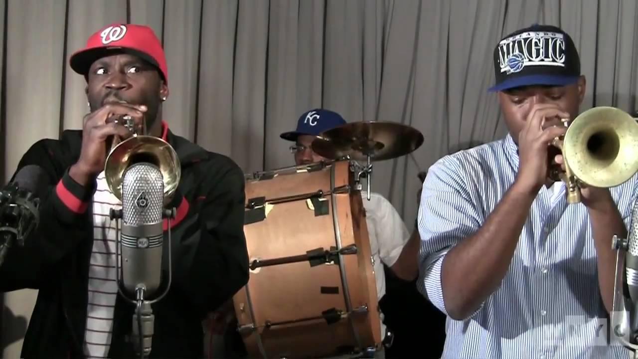 Video: Live on Soundcheck: Rebirth Brass Band