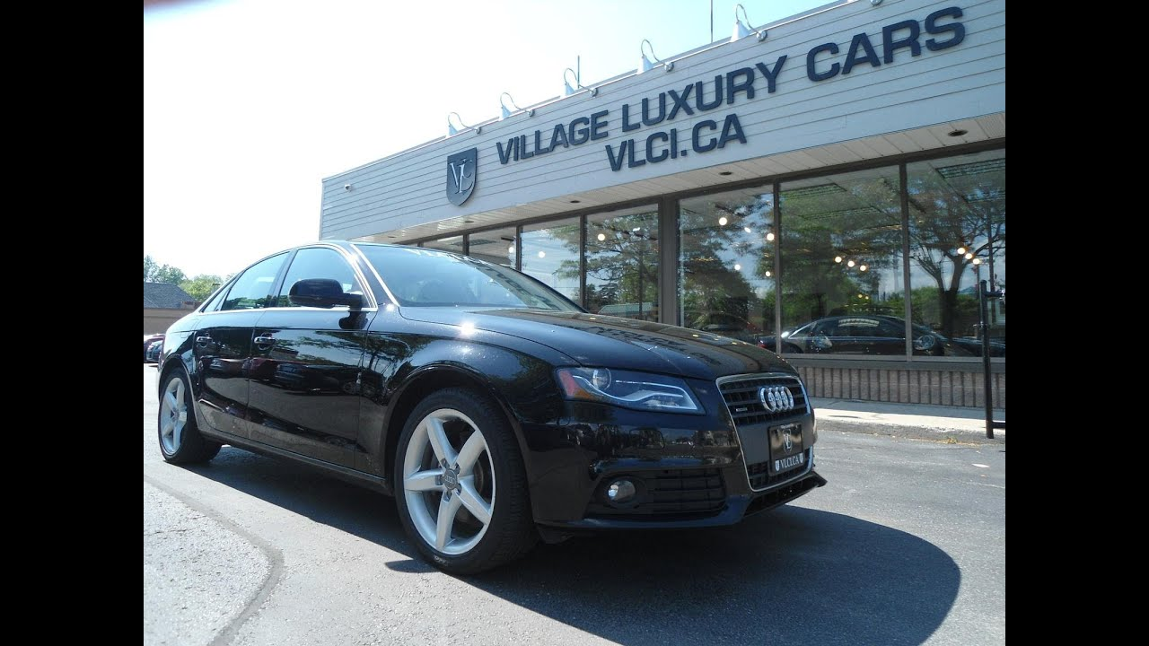 2011 Audi A4 in review Village Luxury Cars Toronto