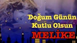 MELİKE İyi Ki Doğdun 3 VERSİYON Happy Birthday Melike Made In Turkey