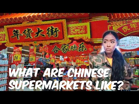 CHINESE SUPERMARKETS - SHANGHAI CHINA