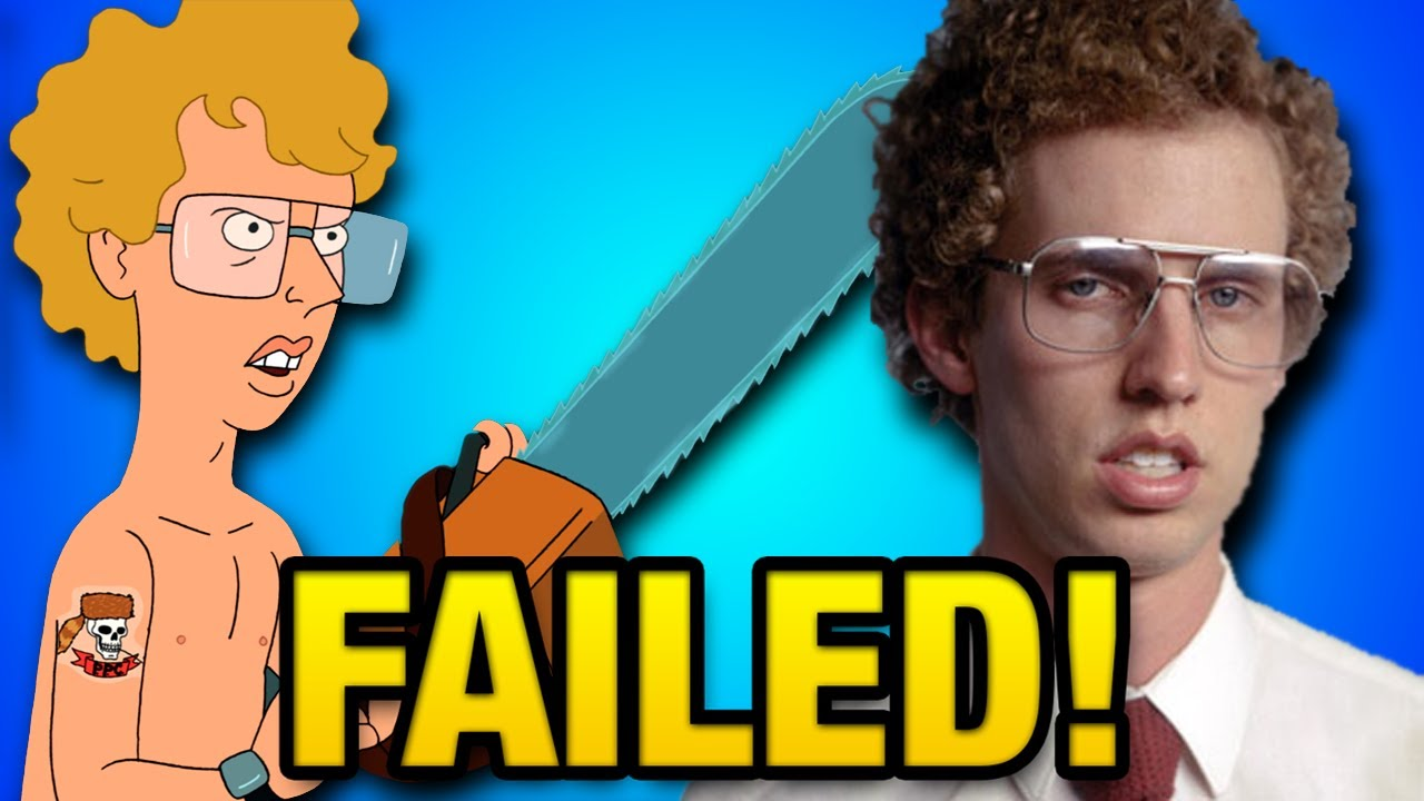 Download Why the Napoleon Dynamite Cartoon FAILED