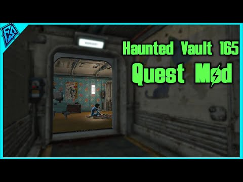 R.I.P Lisa... Twice! | Haunted Vault 165 | Fallout 4 Quest Mod