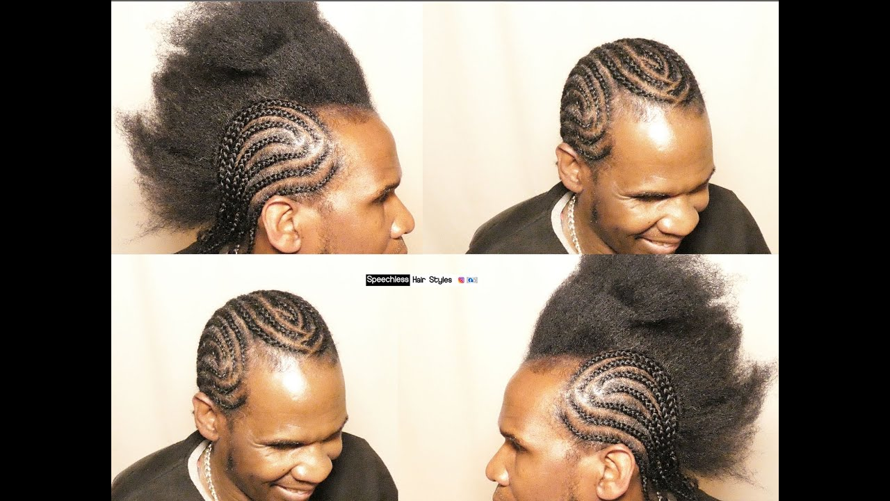 HOW TO DESIGN BRAIDS FOR MEN 2020 HAIRSTYLE